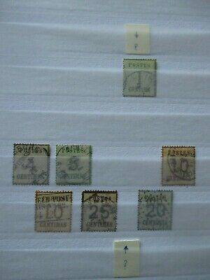 Germany Stamps  - Occupation of Alsace - Small Collection - E1