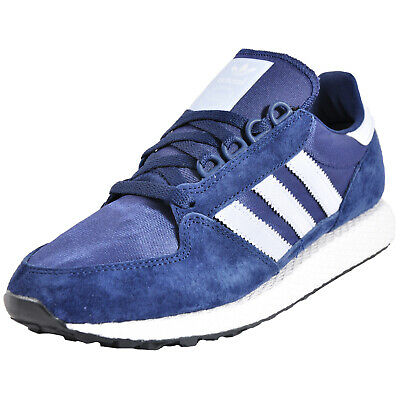 huge discount 4960b 2a293 Adidas Originals Forest Grove Junior Classique Rétro Course Baskets Marine