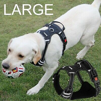 Dog Harness No Pull Vest Adjustable LARGE Dogs Easy Control Pet Walk