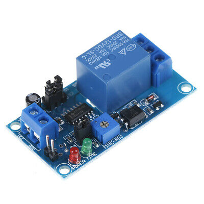 DC 12V time relay module normal open time delay relay control switch HQ