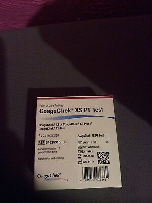 Coaguchek Xs Pt Test Strips 48 For Inr Monitoring Coaguchek Xs Coaguchek Xs Plus
