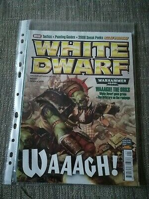 Games Workshop, White Dwarf Magazine Issue 337, January 2008