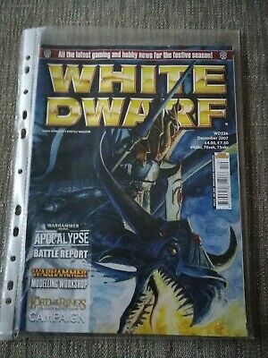 Games Workshop, White Dwarf Magazine Issue 336, December 2007