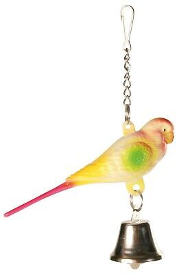 PET Bird Toy TRIXIE SMALL Parakeet with bell FOR CAGE