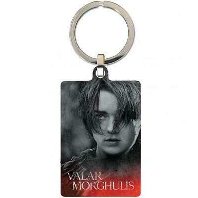 Game Of Thrones Souvenir Collectable Metal Keyring Key Ring Arya