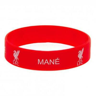 Liverpool FC Silicone Rubber Wristband Bracelet One Size Fits All Mane