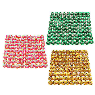 300 pcs Flower Loose Sequins Paillettes Hole Sewing Craft,0.79inch Dia