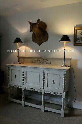 French Painted Antique Edwardian Sideboard - Exquisite English Piece