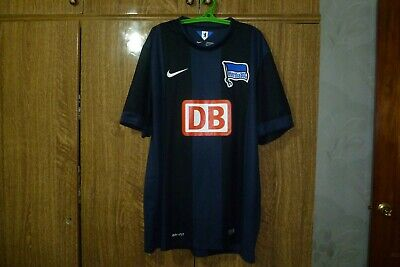 ededac1fa Hertha BSC Nike Football Shirt Away 2014 2015 Berlin Soccer Jersey Men Size  XL