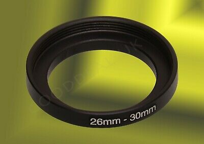 26mm to 30mm 26-30mm 26mm-30mm 26-30 mm Stepping Step Up Filter Ring Adapter UK