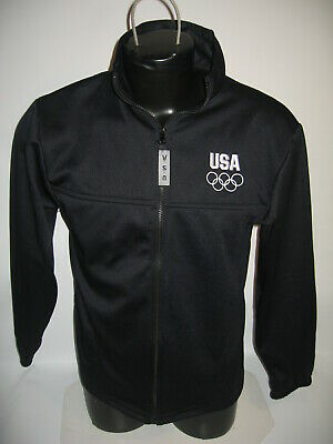 #3787 Usa Olympics Athletic Jacket Men's Medium Preowned