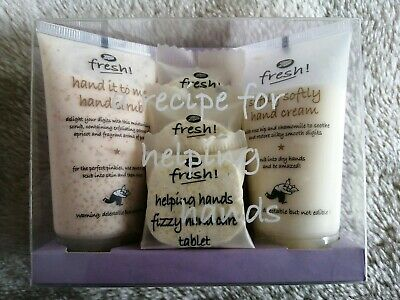 Boots fresh helping hands gift set - new never used