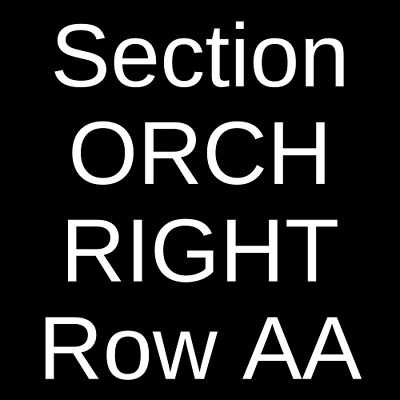 4 Tickets The Springsteen Experience 9/13/19 Lancaster, PA