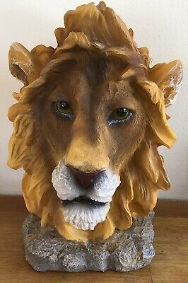 Latex Mould for making stunning Lions Head Bust/stand