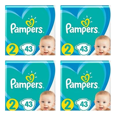 _Pampers New Baby Dry Gr.2 4-8 kg * 172 Stück * ANGEBOT *