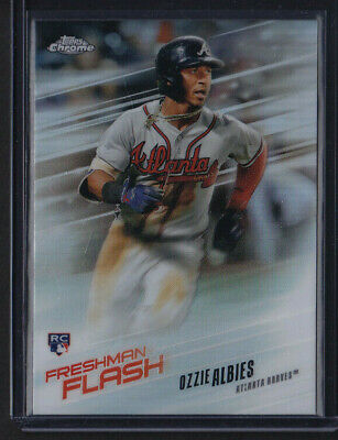 2018 TOPPS FRESHMAN FLASH FF8 OZZIE ALBIES RC BRAVES QTY FREE SHIPPING Baseball Trading Cards