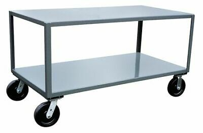 JAMCO LW448P800GP Mobile Table,4800 lb.,49 in. L,37 in. W