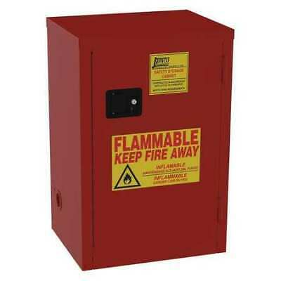 JAMCO BP18 Paints and Inks Cabinet, 18 gal., Red