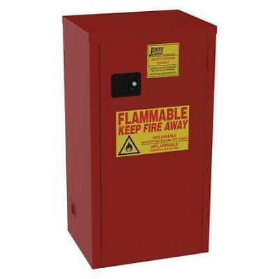 JAMCO BN24 Paints and Inks Cabinet, 24 gal., Red