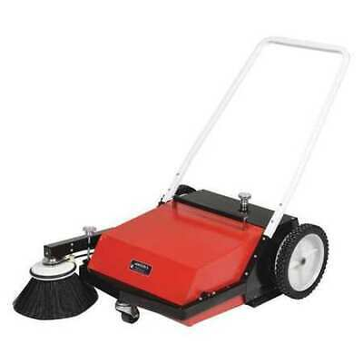 VESTIL JAN-II Manual Brush Sweeper,Belt Driven