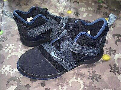best sneakers 42eb5 f61eb NIB NIKE LEBRON Soldier XII Size 1 Youth Boys Shoes Black ...