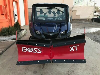 2017 Yamaha Viking Special Edition heated Enclosed   with V Boss plow hydraulic