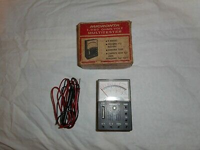 Micronta  1.000 Ohms / Volt Multitester   (  Radio  Shack )