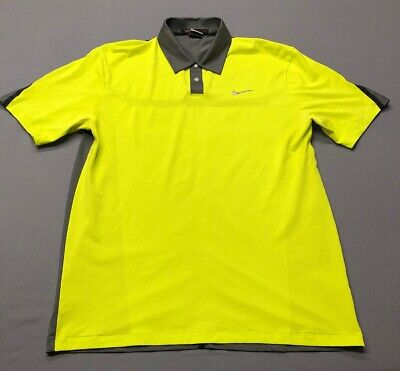 7e93b4540 NIKE TIGER WOODS Collection Dri-Fit Golf Shirt Polo (M