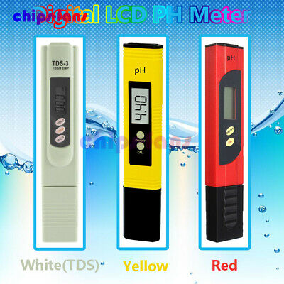 Digital PH Meter/TDS LCD Tester Lab/PH Test paper for Aquarium Pool Hydroponic