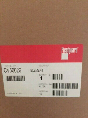 Fleetguard CV50626 Crankcase Ventilation Filter Cummins ISX 2869874 2895324 NEW