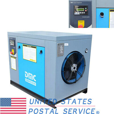 HPDMC 10HP Rotary Screw 3-Phase Electrical Air Compressor 39cfm @ 115psi US