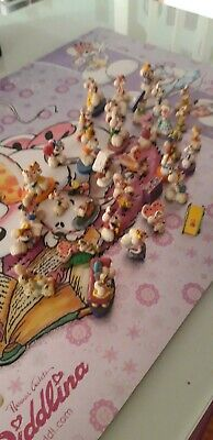 Lot of 37 Diddl Miniatures in perfect condition