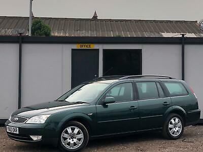 * FORD MONDEO 2.0 TDCi ZETEC ESTATE + LOW 87K MILES + ONLY 1 OWNER FROM NEW *