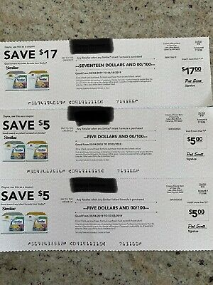 Similac Coupons $37 Total expires 7/03/2019