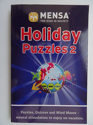 Mensa Holiday Puzzles 2 by Mensa (Paperback, 2009)