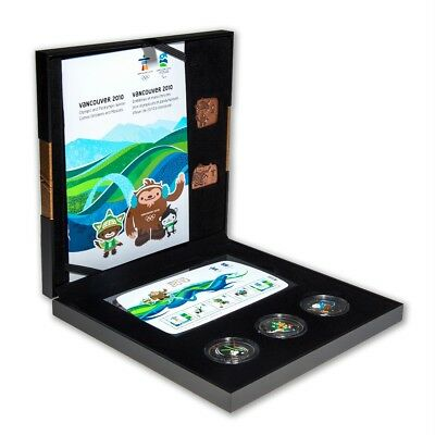 2010-Vancouver  Olympic Winter Games - Bronze Collector Set