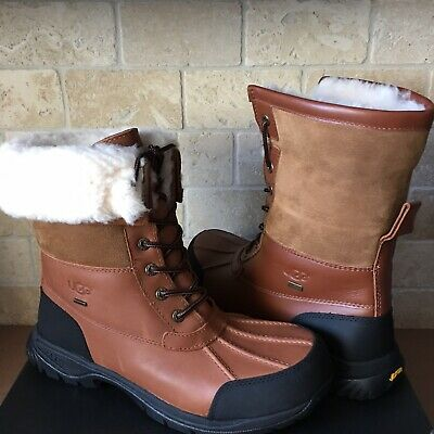 6c0bf15ed7f AUTHENTIC UGG MENS Butte Winter Boots Waterproof Leather Ski Snow ...