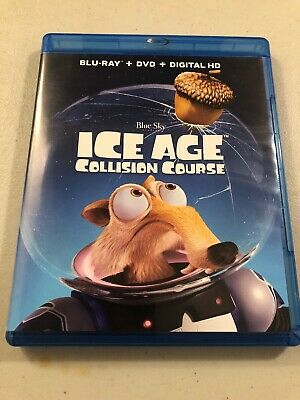 Ice Age: Collision Course (Blu-ray/DVD, 2016, 2-Disc Set) Brand New NOT Sealed