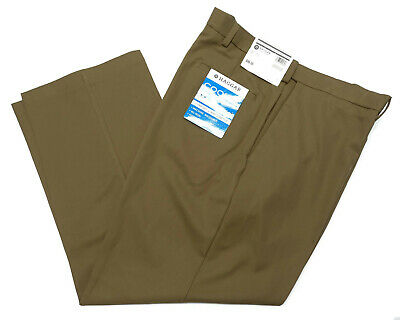 2e572290 Mens Haggar Cool Pro 18 Pants 36x30 Classic Fit Comfort Stretch Style  HC00235