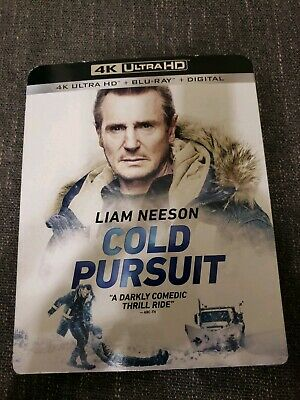 Cold Pursuit (4K Ultra HD + Blu Ray)W/ Slipcover. Not Digital