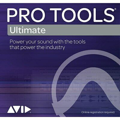 Avid Pro Tools Ultimate Perpetual 1-Year Updates + Support Plan Renewal
