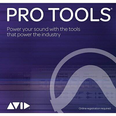 Avid Pro Tools Perpetual 1-Year Updates + Support Plan Renewal