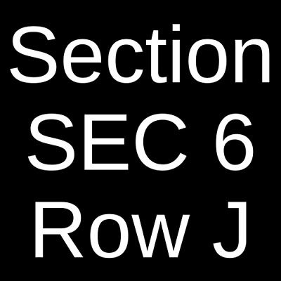4 Tickets Foreigner 6/14/19 Thunder Valley Casino - Amphitheatre Lincoln, CA