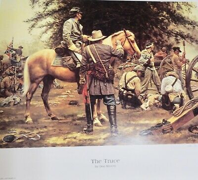 Original Edition DON STIVERS, The Truce ARTIST PROOF 5/50 (DS10)