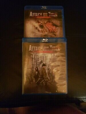 Attack on titan The Movie  1&2 Blu ray and Dvd
