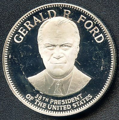 "1 Oz. Silver ""President Gerald Ford Commemorative "" Coin Token"