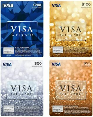 $25 / $50 / $100 / $200 Physical Gift Card - FREE 1st Class Mail Delivery