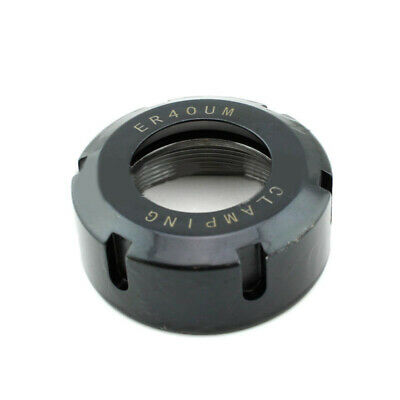 UM Type Clamping Nuts Chuck Holder Lathe Carbide 40CR Steel Metalworking Collet