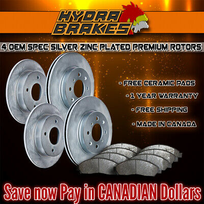 FITS 2007 2008 2009 2010 2011 AUDI Q7 OE BLANK Brake Rotors CERAMIC SLV
