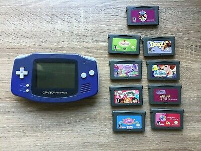 Nintendo Game boy Advance + Games Bundle